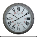 Derby Garnier Gray Clock Out Of Stock