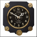 Altimeter Wall Clock Black (SKU: PDLX-WCALTBK)