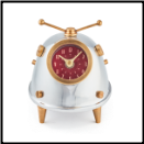 Space Bug Desk Clock (SKU: PDLX-TVSBGAL)
