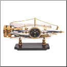 Nautilus Table Clock-Pendulux (SKU: TCNAUAL)