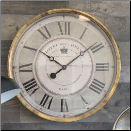 "Hotel Reine Gray Clock 23"" Out Of Stock (SKU: TTC-HRG23)"