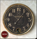"Hotel Pasquier Black Clock 14"" Out Of Stock"