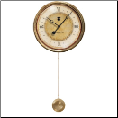Caffe Venezia Cream Clock