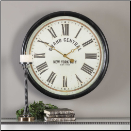 "Lenor Grand Central Clock Uttermost 30"" (SKU: UTM-06098)"