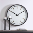 Fleming Wall Clock-Out Of Stock mid Sept (SKU: UTM-06103)