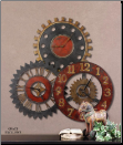 Rusty Movements Wall Clock (SKU: UTM-06762)