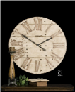 "Harrington Wall Clock 36"" Oversized (SKU: UTM- 06671)"