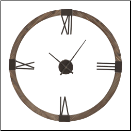 "Marcelo Wall Clock 40"" Uttermost (SKU: UTM-06454)"
