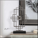 Vanini Table Clock Available March 15th (SKU: UTM-06455)