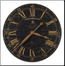 "Bond Street 18"" Wall Clock Timeworks (SKU: UTW-06029)"