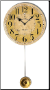 Flottant Yellow Pendulum Clock