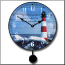 Lighthouse Pendulum Clock (SKU: JTC-LTHPEN)
