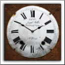 Sallas Wall Clock Vintage