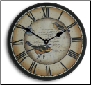 French Postal Birds Clock