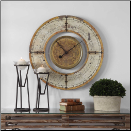 Ezekiel Wall Clock Out Of Stock (SKU: UTM-06453)