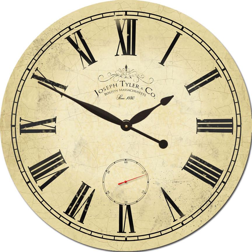 Swiss Time Wall Clock