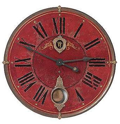 Villa Tesio 31 Quot Brass Wall Clock On Sale