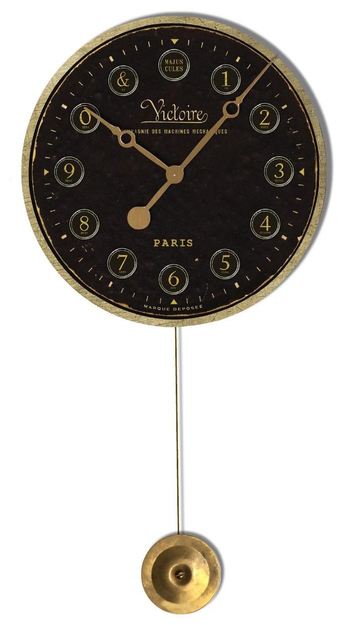 Victorie Pendulum Wall Clock